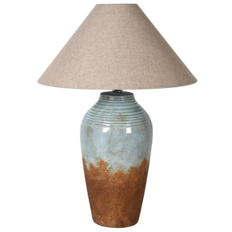 Two Tone Lamp with Shade