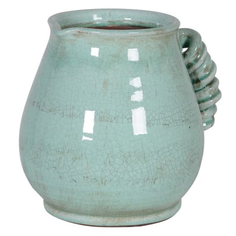Pale Green Ceramic Jug