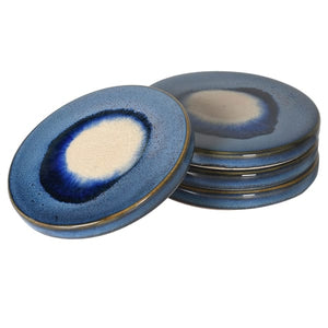 Blue Ceramic Coasters