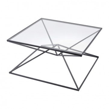 Black Pyramid Coffee Table