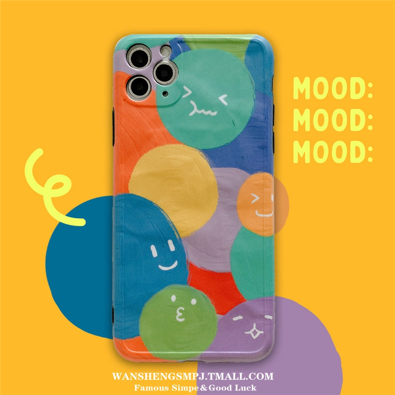 iPhone Colorful Cartoon Case | Xilo Gear