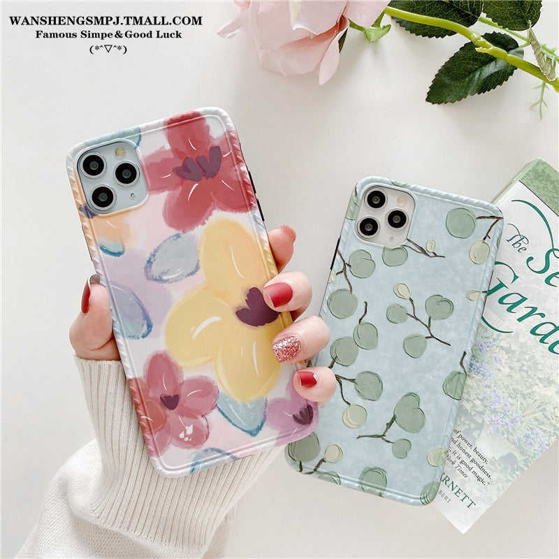 iPhone Floral Painting Case | Xilo Gear