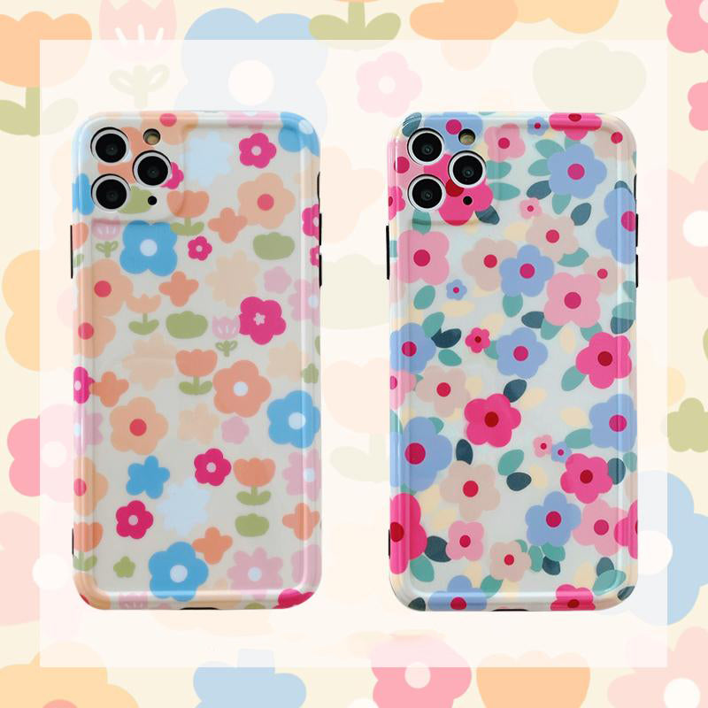 iPhone Cartoon Floral Case | Xilo Gear