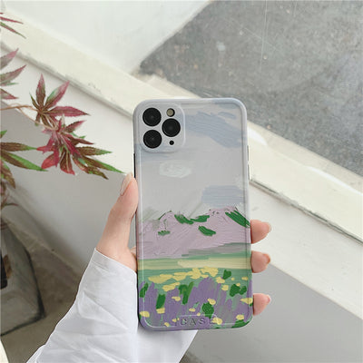 iPhone Nature Painting Pattern Case | Xilo Gear