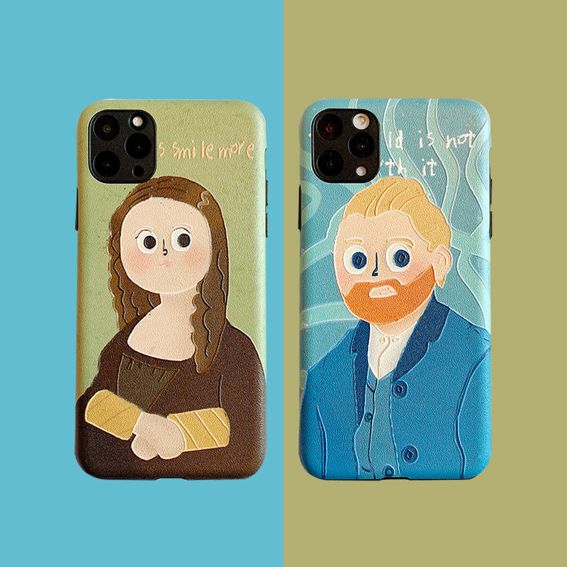 iPhone Cartoon Painting Case | Xilo Gear