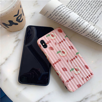 iPhone Luggage Texture Cartoon Case | Xilo Gear