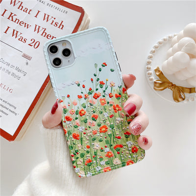 iPhone Flower Field Painting Case | Xilo Gear