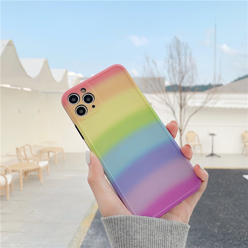 iPhone Rainbow Pattern Silicone Case | Xilo Gear