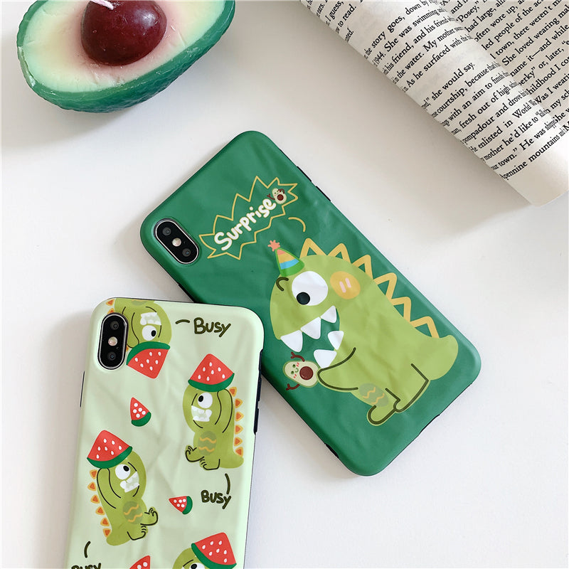 iPhone Cartoon Dino Case | Xilo Gear
