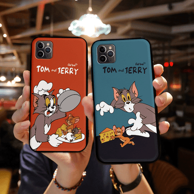 Tom & Jerry Green Cartoon Case for iPhone | Xilo Gear