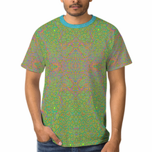 Load image into Gallery viewer, Rainbow Giraffe Unisex Yoga Tee
