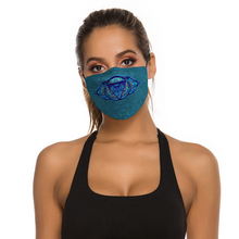 Load image into Gallery viewer, Third Eye Chakra Face Mask w/ 2 Filters