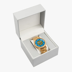 Sequoia Mandala Wood Watch
