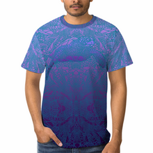 Load image into Gallery viewer, Violet Sea Turtle Unisex Yoga Tee