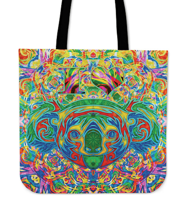 I Heart Koala Mid-Weight Tote Bag