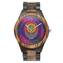 Load image into Gallery viewer, Stealie Starburst Wood Watch