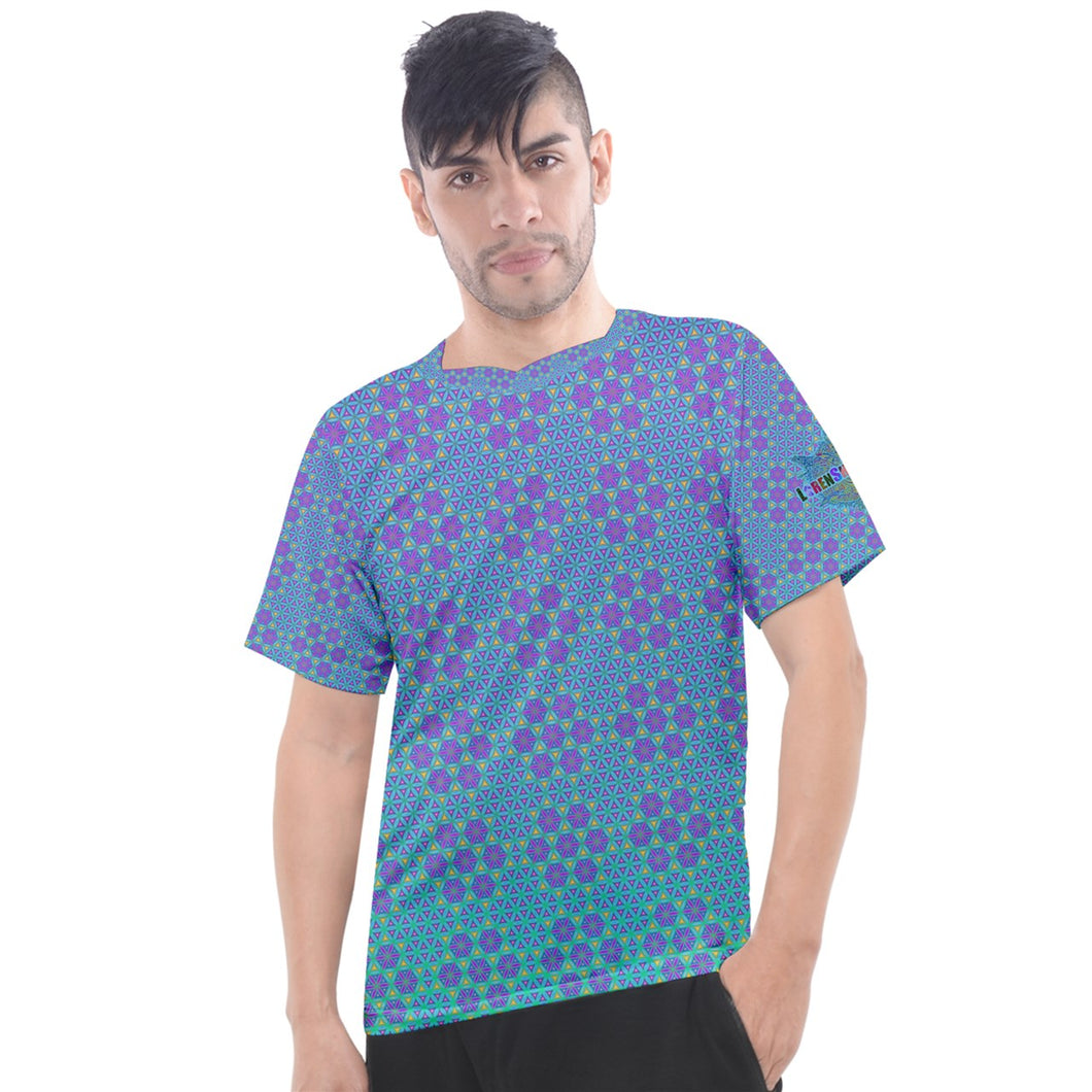 Flower of Life Men's Sport Top