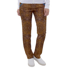 Load image into Gallery viewer, Giraffe Pleather Casual Pants