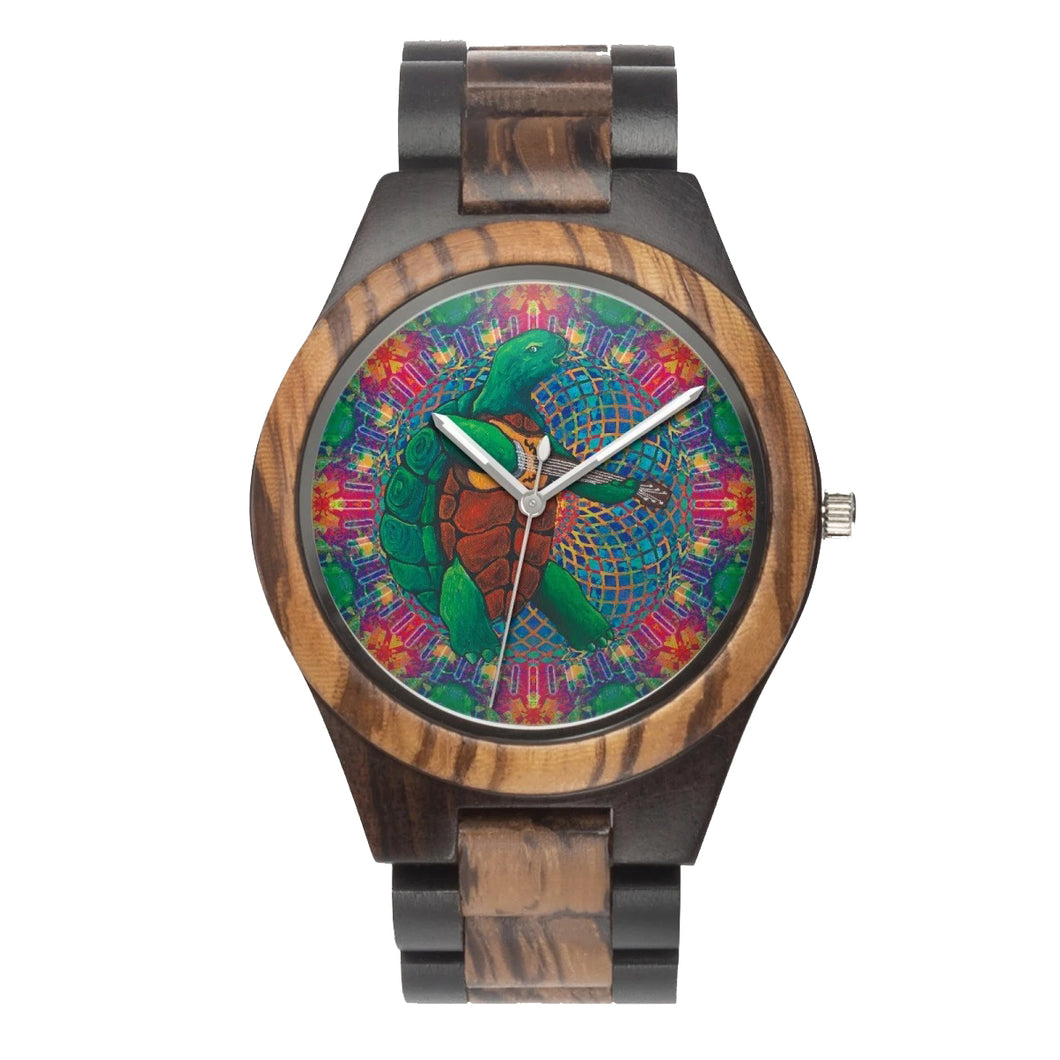 Terrapin Turtle Wood Watch