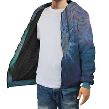 Load image into Gallery viewer, Jupiter Zebra Star *Reversible Hoodie