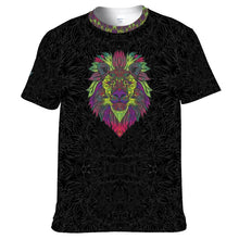 Load image into Gallery viewer, Tribal Lion Unisex Yoga Tee