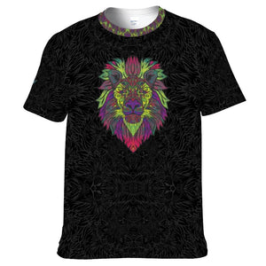 Tribal Lion Unisex Yoga Tee