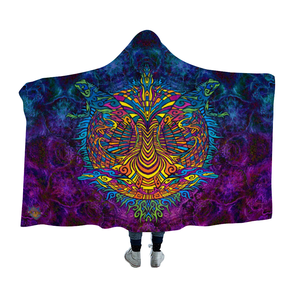 Torus Field Hooded Blanket Cloak