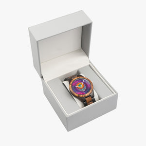 Stealie Starburst Wood Watch
