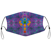 Load image into Gallery viewer, Chakra Awakening Face Mask w/ 2 Filters