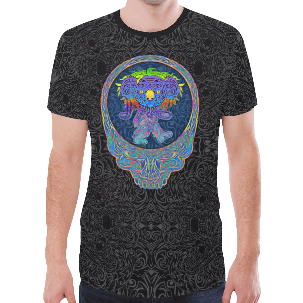Dancing Koala Men's Mesh Tee Shirt