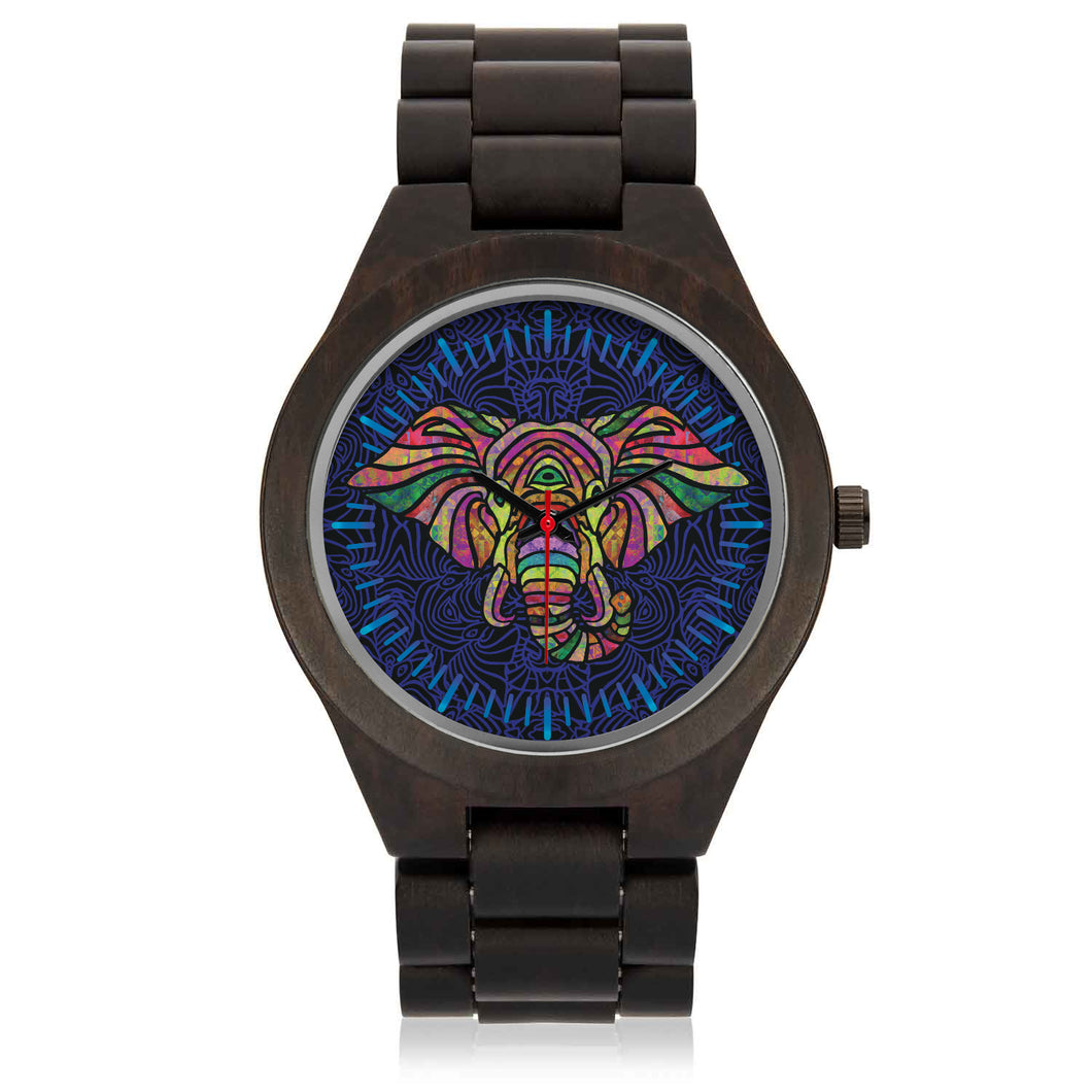 3rd Eye Elle Wood Watch