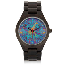 Load image into Gallery viewer, Psy-Giraffe Wood Watch