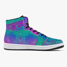 Load image into Gallery viewer, Violet Sea High-Top Sneakers
