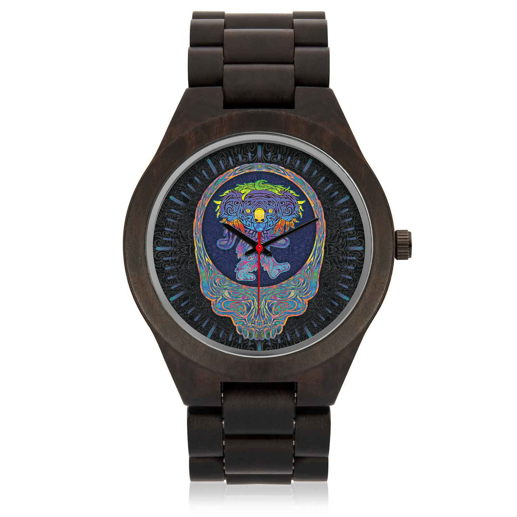 Dancing Koala Wood Watch