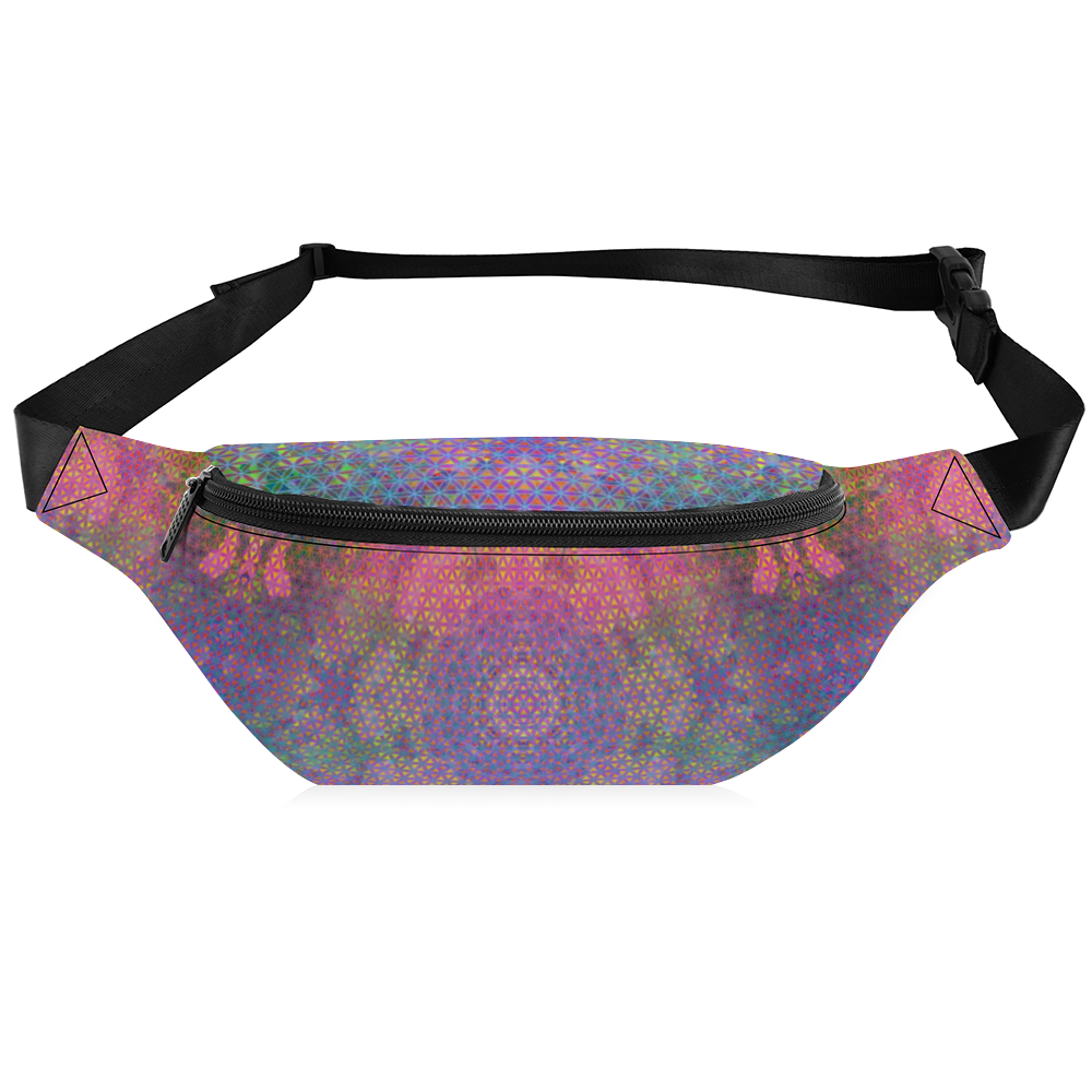 Flower of Life Fanny Pack