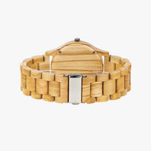 Load image into Gallery viewer, Sequoia Mandala Wood Watch