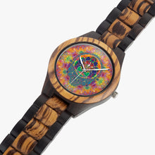 Load image into Gallery viewer, Stealie Seed of Life Wood Watch