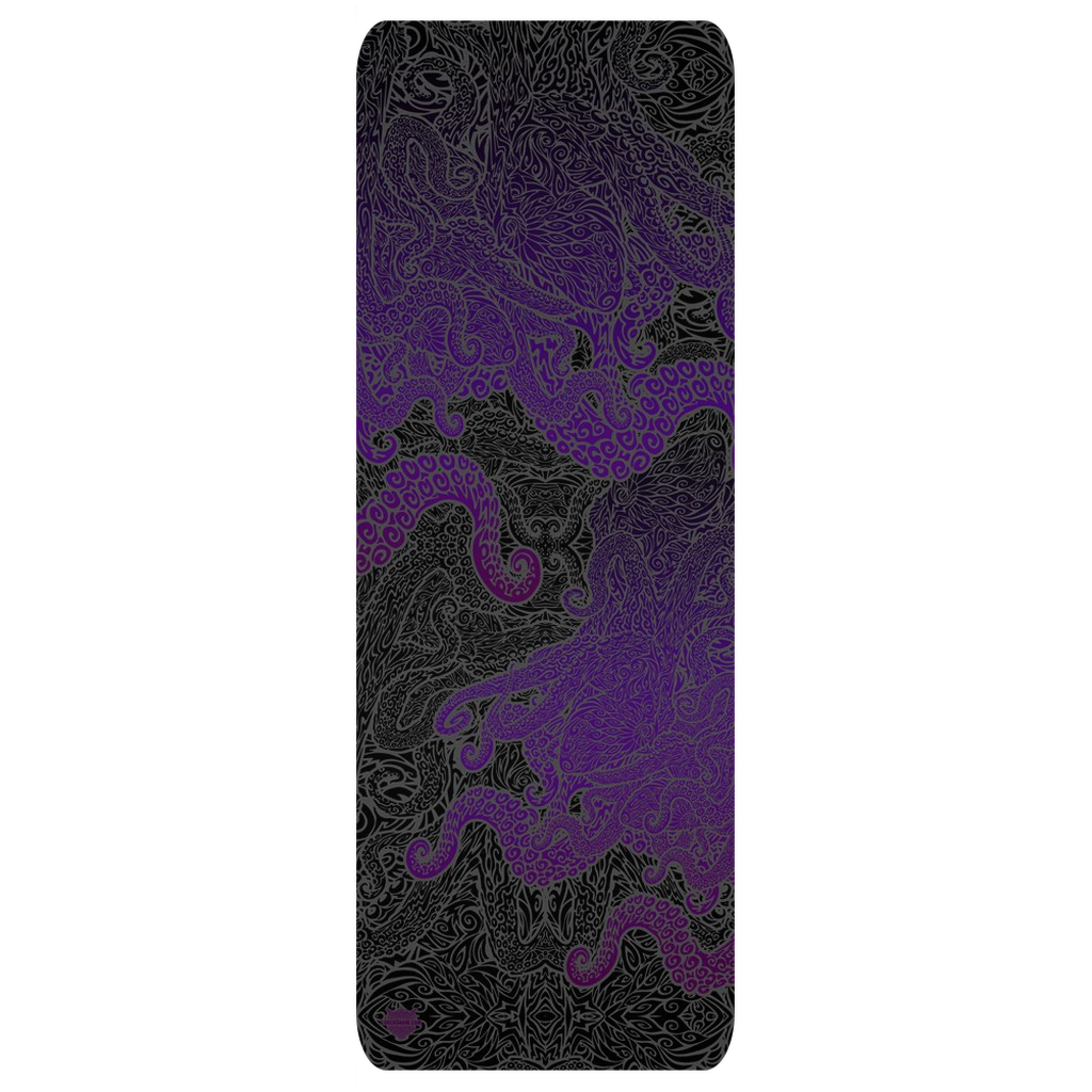 Purple Octopus Yoga Mat