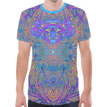 Load image into Gallery viewer, Violet Koala Men's Mesh Tee Shirt