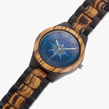 Load image into Gallery viewer, Atlas Mandala Wood Watch