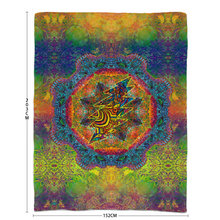 Load image into Gallery viewer, Stealie Mandala Sherpa Blanket