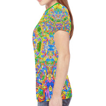 Load image into Gallery viewer, Koala Tie-Dye Women's Mesh Tee Shirt