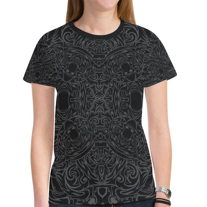 Koala Knight Women's Mesh Tee Shirt