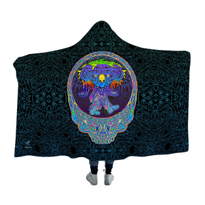 Dancing Koala Stealie Hooded Blanket Cloak