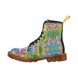 Koala Tie-Dye Air-Sole Boots