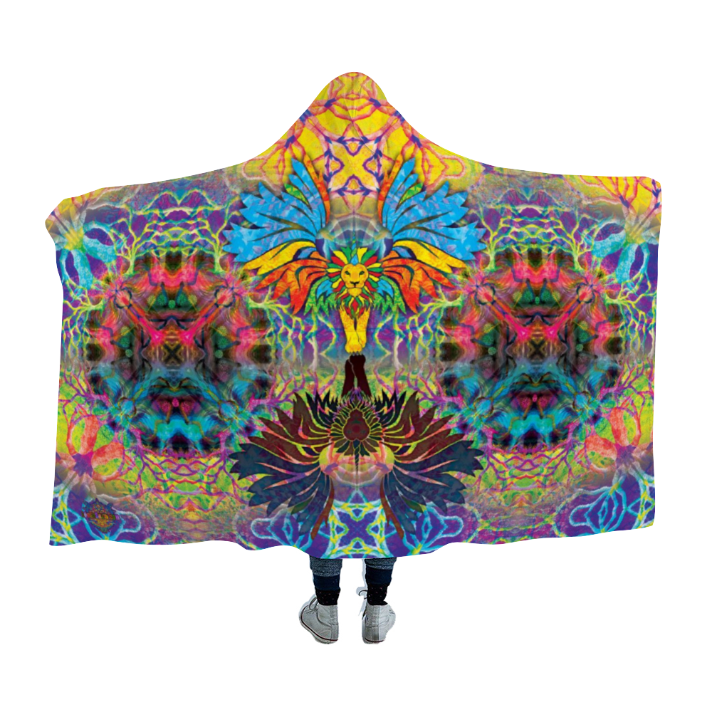 Unilioncorn 2 Hooded Blanket Cloak