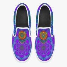 Load image into Gallery viewer, Stealie Blues Slip-On Shoes