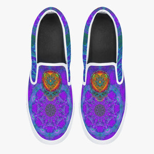 Stealie Blues Slip-On Shoes