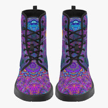 Load image into Gallery viewer, Chakra Awakening Leather Boots