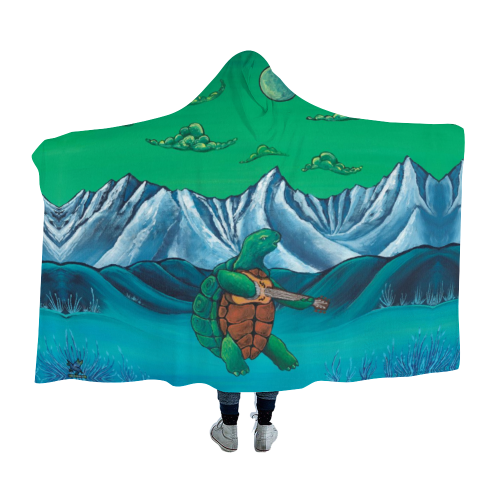 Terrapin Station Hooded Blanket Cloak